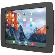 Foto van Compulocks Space - iPad Mini Wall Mount Enclosure - Black - Muurmontage voor tablet - aluminium - zwart - voor Apple iPad mini; iPad mini 2; 3; 4