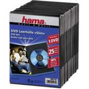 Foto van 1x25 Hama DVD-cases Slim 51182