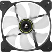 Foto van Corsair Casefan Air Series SP140 LED Green High Static Pressure 140mm Fan Twin Pack