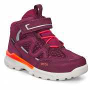 Foto van Ecco - Kid's Urban Hiker Cow Leather - Wandelschoenen maat 28, purper
