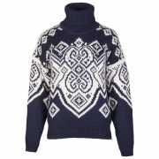 Foto van Dale of Norway - Women's Falun Sweater - Wollen trui maat M, zwart/grijs