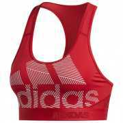 Foto van adidas - Women's Don't Rest Alphaskin Badge Of Sport - Sportbeha maat L, rood/roze