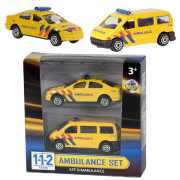 Foto van 112 Ambulance Set 2-delig