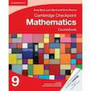 Foto van Cambridge Checkpoint Mathematics Coursebook 9 by Lynn Byrd, Greg Byrd, Chris Pearce (Paperback, 2013)