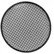 "Foto van HQ Power 12"" black metal speaker grille"