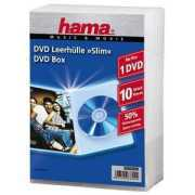 Foto van 1x10 Hama DVD-cases Slim Transparant 83890