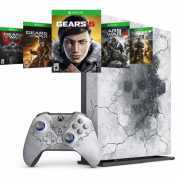 Foto van Microsoft gameconsole Xbox One X 1TB Limited Edition + Gears 5