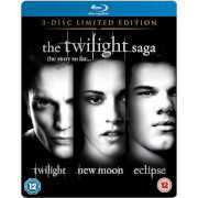 Foto van The Twilight Saga - Triple Pack Limited Edition Steelbook