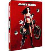 Foto van Grindhouse: Planet Terror and Death Proof - Zavvi Exclusive Limited Edition Steelbook