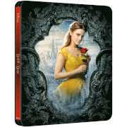 Foto van Beauty and the Beast (Live Action) – Zavvi Exclusive 4K Ultra HD Steelbook (Includes 2D Blu-ray)