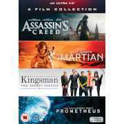 Foto van 4K Ultra HD - 4 Film Collection (Assassin's Creed, Kingsman, Prometheus, The Martian)